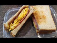 Ham And Egg Sandwich, Egg Sandwiches, Ham And Eggs, Cafe House, Milk Tea, Afternoon Tea, Restaurants, Ethnic Recipes, Food