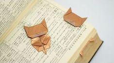 How-To: Origami Cat BookmarkOrigami cat bookmark! moreHow-To: Origami Cat Bookmark Origami cat bookmark! Origami Design, Diy Origami, Mobil Origami, Gato Origami, Origami Simple, Useful Origami, Origami Owl Watch, Origami Paper, Dollar Origami