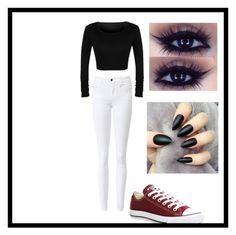 """""""fall look"""" by katelinhall on Polyvore featuring Converse"""