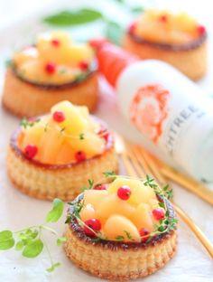 「桃のヨーグルトカスタードパイ」なつみ | お菓子・パンのレシピや作り方【corecle*コレクル】
