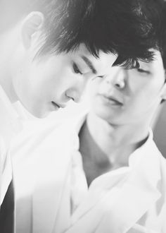 "baekfuns:  19/30 DBSK edit challenge - Edit of Jaejoong & Yoochun    ""I know you have been very tired recently, worried and forcing a smile out, I feel sorry. We are always together and the other members are unable to see your sadness, but the hard words have to be said out. If you are tired, tell me, I will help you. I will listen to all your troubles because I am always by your side. You can tell me anything and everything, the soul of my life. Yoochun, I love you."" - Jaejoong"