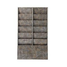 Wandorganizer im Industry-Stil BARKLEY aus Metall