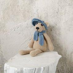 Un joli doudou ourson au crochet - Marie Claire Idées