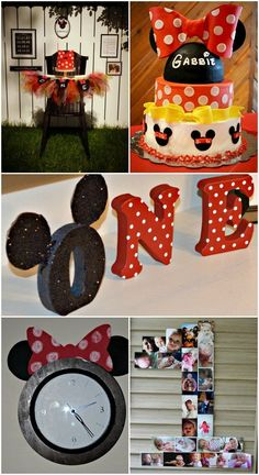 MINNIE MOUSE PARTY for under $200 including food!  DIY ideas for a party on a budget. #diy food ideas
