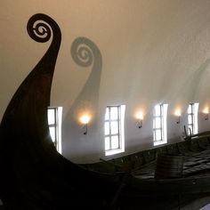 The #OsebergShip at #vikingskipmuseet in #Oslo is considered one of the finest discoveries from the #VikingAge - found in a mound near #Tønsberg #Vestfold #vikings #viking #norway @visitoslo : @stylehiclub  http://bit.ly/1Y90IHi