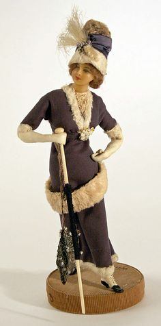 Doll  Lafitte Desirat  (French)  Date: 1909–14 Culture: French Medium: wax Dimensions: [no dimensions available] Credit Line: Gift of Mrs. Walter R. Lehmann in memory of Mr. Walter R. Lehman, 1972 Accession Number: 1972.151.6