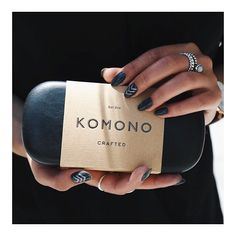 Just received some rad @komono sunnies!!  Shop our selection in store and online [link in bio]!! Psst! Noticed the charcoal & silver boho nails?!  #komono #komonocrafted #shopmanoir #nailart #bohonails #healthynails #sunnies #newarrivals