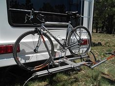 The Kuat NV bike rack is an easy-to-use hitch-mounted bicycle rack that makes…