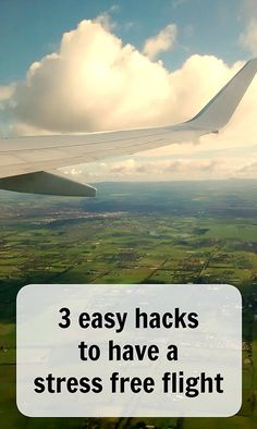 3 easy hacks to have a stress free flight. Do you hate that feeling of stress in the pit of your stomach as you rush to the airport? Follow these easy steps to never stress out about a flight again. Ann K Addley travel blog