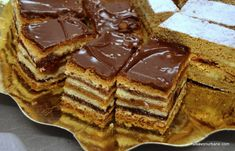 Romanian Desserts, Cake Recipes, Dessert Recipes, Food Cakes, New Years Eve Party, Waffles, Bakery, Sweet Treats, Food And Drink