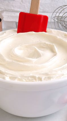 Ivory Silk Buttercream ~ Extra creamy, silky and incredibly light, this exceptional buttercream melts on the tongue, is not gritty or too sweet and is made using a secret ingredient and unique method. Pipes beautifully and perfect for special occasion or everyday cakes and cupcakes. Everyone will LOVE this recipe. It will become your favorite ivory buttercream!