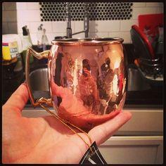 Copper mugs, ginger beer, limes, & vodka= Moscow mule gift basket