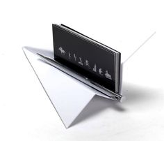Paper Plane Business Card Holder or you could use it for a place card :)