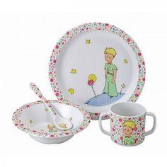 Coffret repas Le Petit Prince 4 pièces - Rose