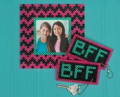 There's nothing like having a BFF to share your dreams and secrets and be your cheerleader. Show her how much she means with a cool photo frame and a keychain that matches one you keep for yourself.