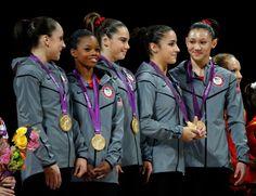 Olympics Day 4 - Women's Gymnastics Team wins Gold :)