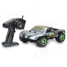 NanSheng 8807G 1:12 Scale 3-CH 2.4GHz High Speed R/C Cross-Country Car - Silver + Black. Super wear-resistant tires, suitable for a variety of road conditions, adjustable 3-mode, long working time, with replacement car shell.. Tags: #Hobbies #Toys #R/C #Toys #R/C #Cars