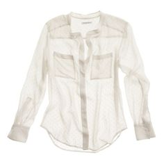 Next stop: my favorite textile, i.e. a silky blouse sans fussy collar. Snowdot Blouse. #mixwellmadewell #ellemagazine