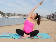 [VIDEO] Prenatal Yoga Stretches with Fitness Instructor Christina Sinclair - Momtastic