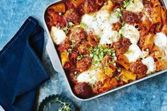 It's autumn already which means that winter is just around the corner. With cooler temperatures already in our midst there may be no better time to indulge in a hearty and wholesome pasta bake - topped with plenty of cheese of course.