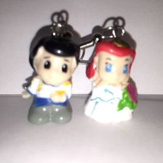 Squinkies Earrings   Wedding Ariel & Eric  made from by ErinEtc