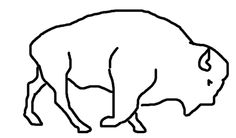 This Rough-sketch Bison Gif took me 7 hours of constant repetitive line-work o_o. I'm really proud of how this little crappy animation turned out. Bison Tattoo, Baby Buffalo, Gifs, Outline Drawings, Eagles, Animation, Tattoo Ideas, Crafts, Logos
