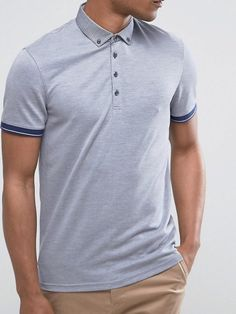 61e7df210 Look to contrasting collars and sleeve tips to add interest to a Ted Baker  polo