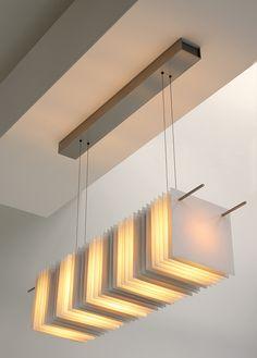 Thincut porcelain lamp by Kafka Art Deco Lighting, Cool Lighting, Chandelier Lighting, Lighting Design, Chandeliers, Room Lights, Ceiling Lights, Lampe Decoration, Ceramic Light