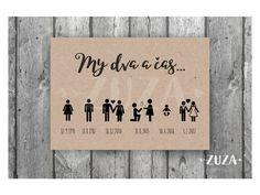 Sdělte svatebčanům svůj příběh.   <3   Plakát můžete zarámovat, vystavit na svatbě a nebo si jej pověsit doma na zeď    :)   Možnost kompletně sladit do stylu a barev Vaší svatby a oznámení.    Velikost A3 (297mmx420mm)