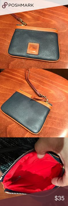 Dooney & Bourke Wristlet NWT. FLAWLESS ALSO COMES WITH WARRANTY. YOU CAN REGISTER IT ONLINE AS WELL. Reasonable offers accepted ❤️ Dooney & Bourke Bags Clutches & Wristlets