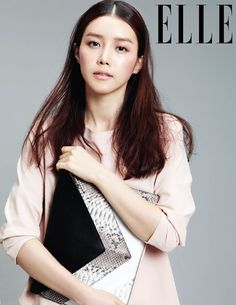 Chae Jung-ahn // Elle Korea // May 2013
