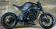 House of Customs Triumph Speed Triple 1050 - Google Search