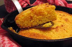 Buttermilk Cornbread - vegetable oil - yellow cornmeal - flour - egg - baking powder - salt - baking soda - buttermilk