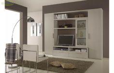 Prezzo: € 599  Parete attrezzata mod. SK1 finitura larice beige  Dimensioni: L.300 P.60 H.226