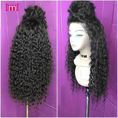 Aliexpress.com : Buy 7A Brazilian Deep Curly Full Lace Human Hair Wigs Glueless Full Lace Wigs Virgin Human Hair Full Lace Front Wigs With Baby Hair from Reliable wig kanekalon suppliers on IMI Hair Products Co.,Ltd