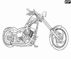 Harley-Davidson Logo Coloring Pages | Coloring Pages