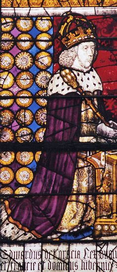 King Edward IV Canterbury Cathedral glass of circa 1482
