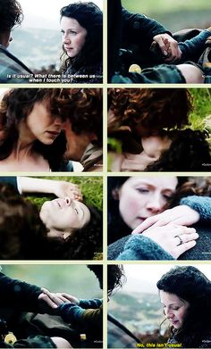 """No, this isn't usual."" [GIFSET] 1x08 Previews #Outlander #Claire #Jamie"