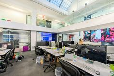 Spotify 81 700x467 Inside Spotifys Colorful and Open NYC Offices