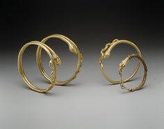 Snake bracelet, gold, Egypt, AD 1st century, Roman period