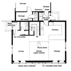 Starboard Solar House Plan - Good layout - exterior could easily be changed