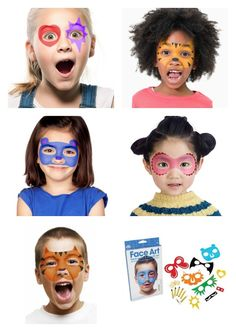FACE ART!   $6.99  #easterbasket #facepaint #birthdayparty #partyideas
