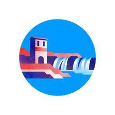 Usa Today, Digital Illustration, Badge, Branding, Brand Management, Identity Branding, Badges