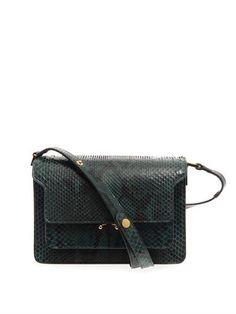 Trunk python shoulder bag | Marni | MATCHESFASHION.COM