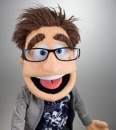 Portrait Puppet -Dan Cook
