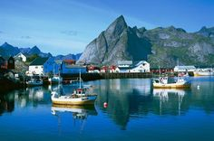Norway Tourism: Hamney at the Lofoten Islands
