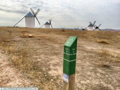 Route of Don Quixote, Campo de Criptana, Spain