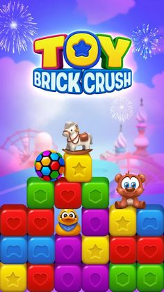 Toys construction toys of the year Game Logo, Game Ui, Games For Kids, Games To Play, Android Mobile Games, Match 3 Games, Google Play, Game Title, Splash Screen