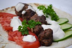 Bakeaway with Me: CtBF's Spiced Meatballs with Sriracha Sauce ~~ Merguez…