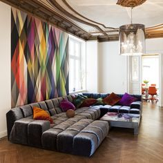IWEF Office in Berlin, Germany #interiordesign #cooloffices #lounge